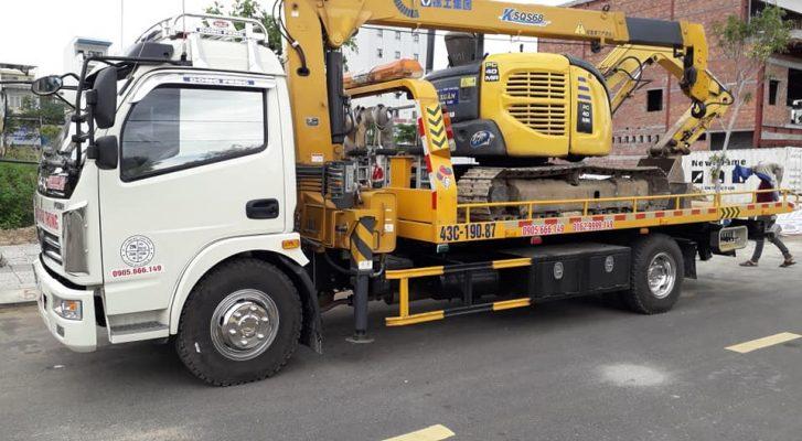 xe cứu hộ giao thông 3 chức năng Dongfeng