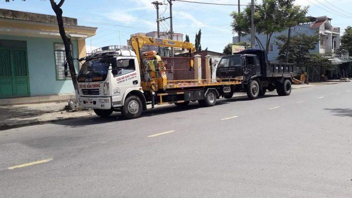 Lái xe tải cứu hộ giao thông 3 chức năng Dongfeng