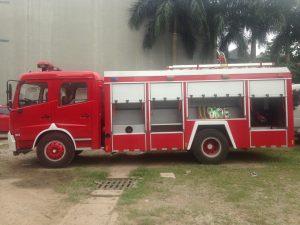 xe cứu hỏa chữa cháy nhập khẩu Dongfeng