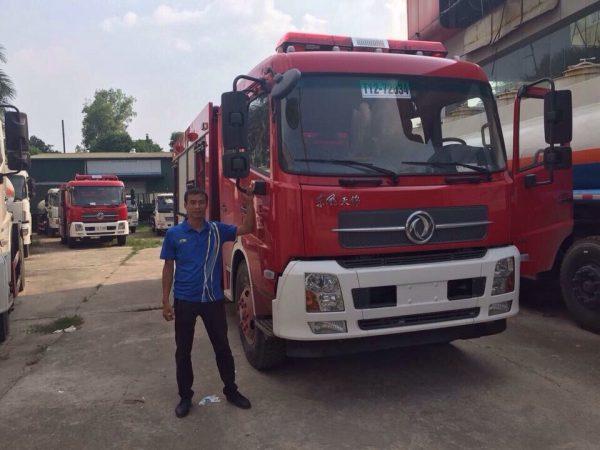 xe cứu hỏa dongfeng nhập khẩu