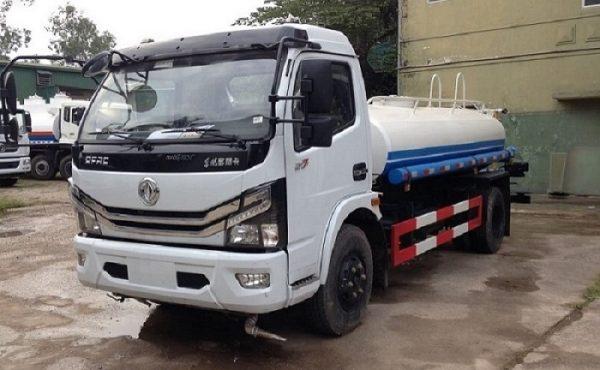Xe phun nước rửa đường tưới cây Dongfeng - 5 khối