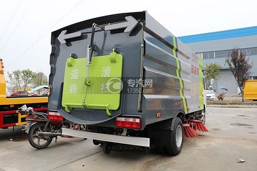 xe quét đường DongFeng 5 khối