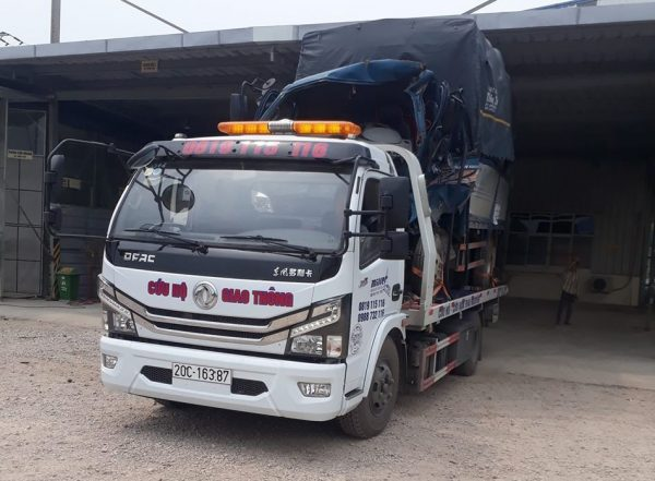 xe cứu hộ giao thông 2 chức năng Dongfeng